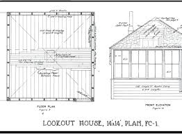 fire lookout tower plans fire lookout tower plans fire lookout tower floor plans