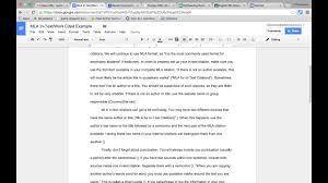 013 Essay Example Maxresdefault Mla Citation Thatsnotus