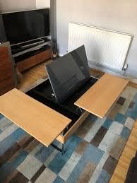 bo concept chiva oak coffee side table