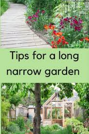8 steps to the long thin garden of your