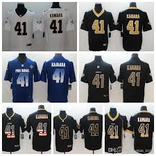 Jersey Mens Rush Party Football Stitched Alvin Color Embroidery 41 Stitching Shirts Kamara Orleans Saints New