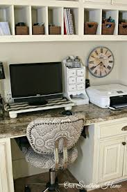 home office 3 this pallet desk is absolutely amazing not only does it provide some shelving above the desk but its more visually interesting than the amazing home offices 3