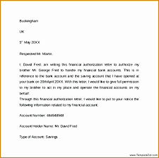 7 Bank Authorization Letter Format Besttemplates Besttemplates