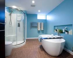Paint Colours Bathroom Endearing Color Ideas For Bathroom Walls With Awesome Soft Blue