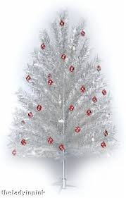 7 5 Ft Silver Aluminum Christmas Tree Free Color Wheel 30677393