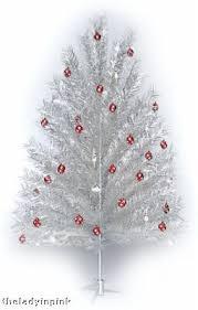 7 5 Ft Silver Aluminum Christmas Tree Free Color Wheel 30677393