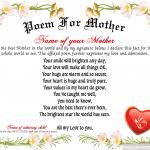 Mother Day Certificate 11 Designs Rapic Design
