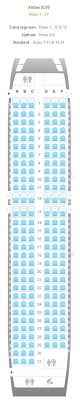 Jetblue Plane Seating Chart Airline Seating Charts Boeing Airbus Aircraft Seat Maps