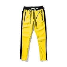 Hedonistk Sweatpant <b>Men</b> Hip Hop <b>Streetwear Pants</b> Stripe Pocket ...