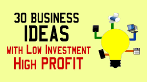 30 Small Business Ideas With Low Investment High Profit Youtube