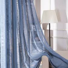 custom made top grade cotton linen curtains decorative cloth curtain simple color curtains for living room