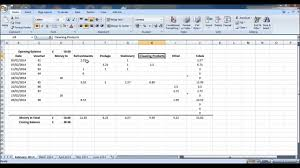 Petty Cash Log Book How To Create A Petty Cash Account Using Excel Part 1 Youtube