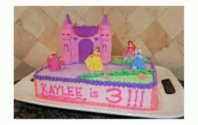 6 Princess Castle Cakes With Stars Photo Princess Castle Birthday