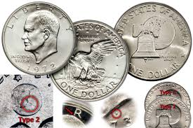 1972 Eisenhower Dollar Value Chart Eisenhower Ike Dollar Coin Values And Prices
