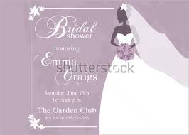 Free Bridal Shower Invitations Templates Enchanting Stunning Bridal Shower Invitation Samples Free Bridal Shower
