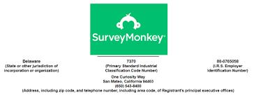 Survey Monkey Logo Surveymonkey Ipo With Salesforce Buying Share Price Could Increase