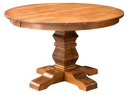 image of table with pedestal base