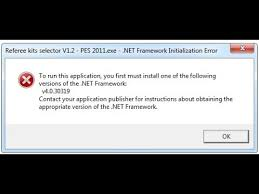 fix net framework initialization error