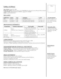 Sample Resume Sample Resume For Banking Job Sample Resume For