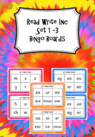 Printable worksheets for teaching students to read and write basic words that begin with the letters br, cr, dr, fr, gr, pr, and tr. Read Write Inc Set 1 3 Sounds Bingo By Funky Phonics Tpt