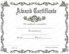 Sample Certificates Templates Free Printable Certificate Templates For Teachers Besttemplate123