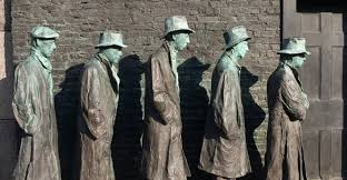soup kitchens and breadlines pictures great depression history com franklin delano roosevelt memorial washington d c the great depression soup kitchens breadlines