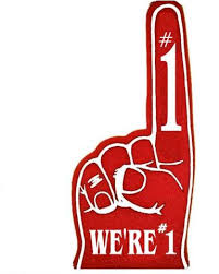 foam finger clipart. pin finger clipart blank foam #2