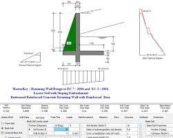 Gravity Retaining Wall Design Calculations Design Features Gravity Retaining Wall Design Of A Retaining