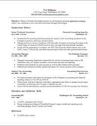 Accounting Resume Samples Musiccityspiritsandcocktail Com