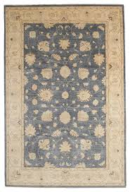 oushak wool area rug blue 6x9 traditional area rugs 6x9 wool area rugs