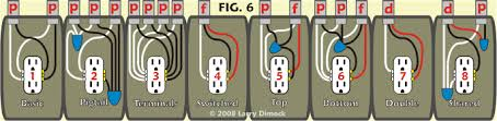 residential wiring connections tutorial wiring instruction receptacle diagram