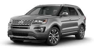 2017 Ford Edge Color Chart 2017 Ford Explorer Exterior Color Options