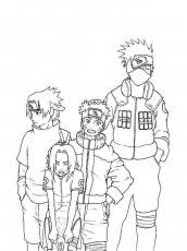 Small Picture Naruto Coloring Pages Coloring Home