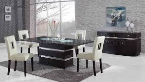 dining room table glass inlay. brown modern pedestal dining table w/glass inlay \u0026 options room glass b
