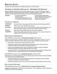 Sample Help Desk Support Resume Helpdesk Resume Resume Sample