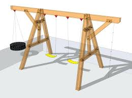 diy wood swing set your kids will be the envy of the neighborhood when you build diy wood swing set
