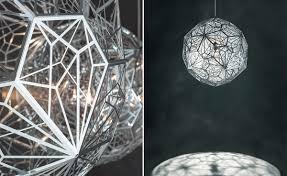 etch light web pendant light by tom dixon