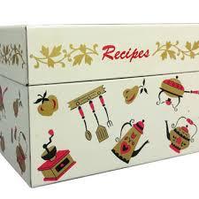 Decorative Recipe Box Shop Vintage Metal Recipebox on Wanelo 88