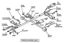 Electrical illustrated diagram wiring harness p n 26616 kohler generator wiring diagram at free freeautoresponder