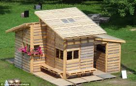 The Pallet House could help the 33 million refugees and displaced