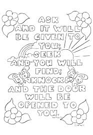 Scripture Coloring Pages Collection Of Scripture Coloring Pages For