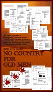 best school ap language composition images cormac mccarthy no country for old men entire novel covered