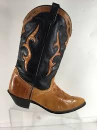 Dingo Boots Size Chart Details About Dingo Mens Boots Size 8 5 M Western Black Tan Leather Rustic Look