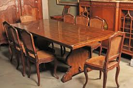 provincial french style oak farmhouse dining table
