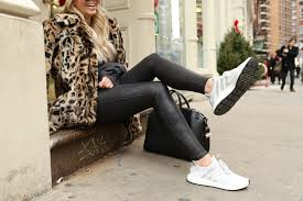 spanx faux leather leggings 35 off leopard coat 30 off adidas sneakers