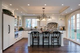 tray lighting ceiling. Tray Ceiling Kitchen Traditional With Built In Sink Black Granite Lighting I