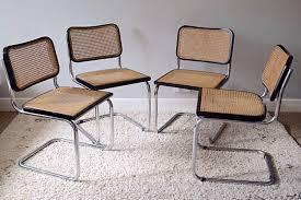 vintage 70s furniture. Four Vintage Marcel Breuer Style Cesca Dining Chairs 1960s/70s Habitat | Vinterior 70s Furniture