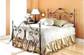 wrought iron bed frame king – chiropractictable.info