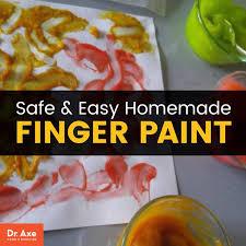 homemade finger paint dr axe