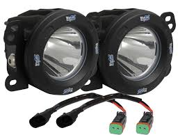 vision x lighting 4 oe fog light replacement in black housing for 07 14